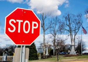 learn letter names stop sign